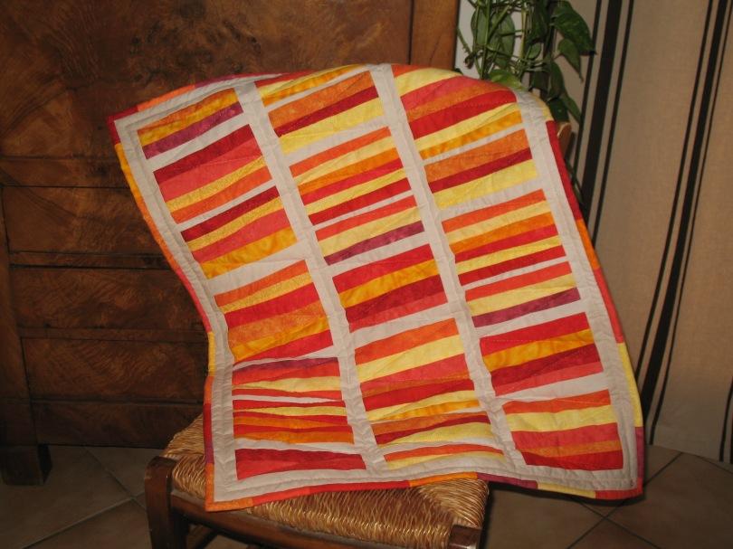 Plaid bébé patchwork-Ref. 41214