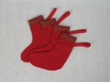 Mini Bottes de Noël- Ref.377-15