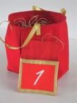 Calendrier de l'Avent - Ref.61118 - sac de rangement