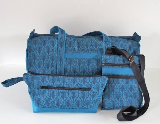 coordonné 3 bagages - Réf.90321trio