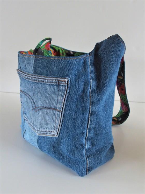 sac en jean's - Réf.90519
